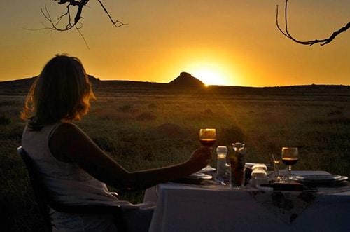 Sunset-dinner
